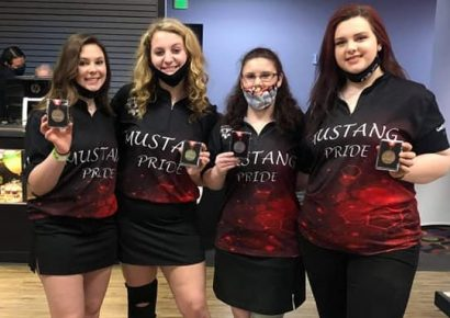 Lady Mustang Bowlers Take Third at State, But Win Four Individual Awards