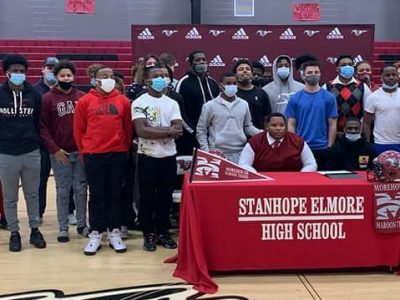 SEHS Football Player Kaleb Stokes Signs with Morehouse College of Atlanta