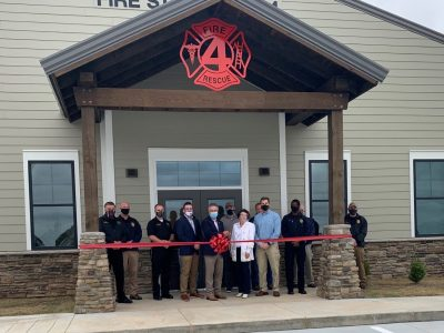 Prattville Fire Station #4 and Police Annex Celebrates Ribbon Cutting