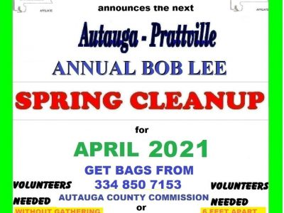 Spring Cleaning: Autauga County Organizations Hosting Litter Cleanup Events in March, April
