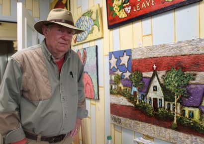 PHOTOS: Artists Fill Downtown Wetumpka with Color, Creativity