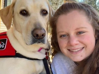 Prattville Woman Regains Independence with Service Dog from Service Dogs Alabama