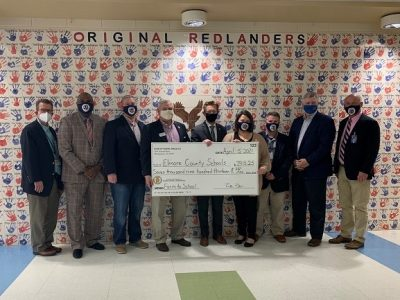 Elmore County Farm to School Program Presented Check from Alabama Department of Agriculture and Industries