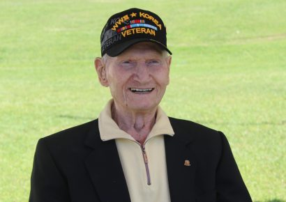 Drive-by Parade Honors Millbrook WWII Veteran Dr. Donald Hayhurst