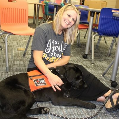 Newest Pine Level Elementary Employee Is Furry Stress Detector Loved by Student Body