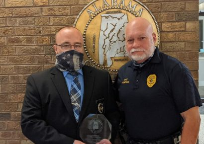 Prattville Police Sgt. Jeremy Thompson is a 2020 CrimeStopper of the Year