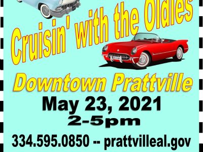 'Cruisin' with the Oldies' Coming to Downtown Prattville May 23 with Vintage Cars, Live Music
